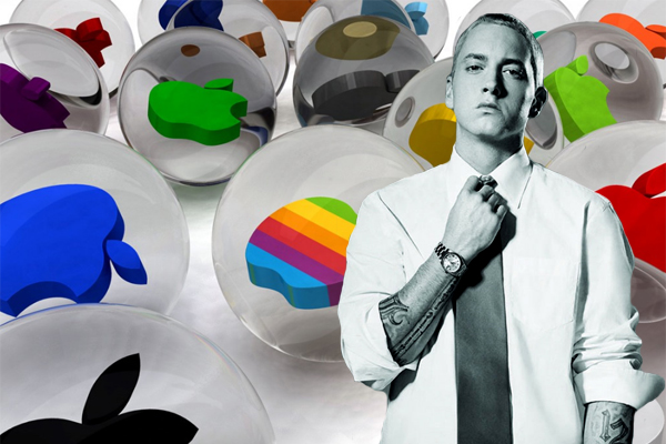 eminem-apple