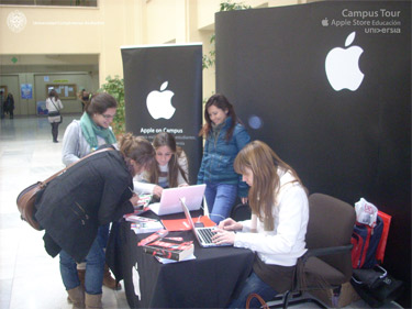 Campus Tour - Apple on Tour 2010 Universidad Complutense de Madrid